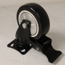 PU Caster With Stopper