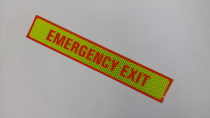Ever Reflector Emergency Exit 12 inch x 2 inch