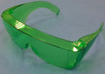 Green Full Cover Safety Goggles