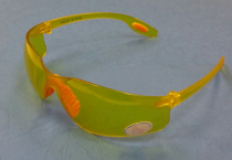 Yellow Safety Goggles