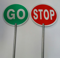 Stop & Go Signage