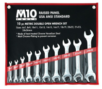 M10 OP10 Double Open End Wrench SET